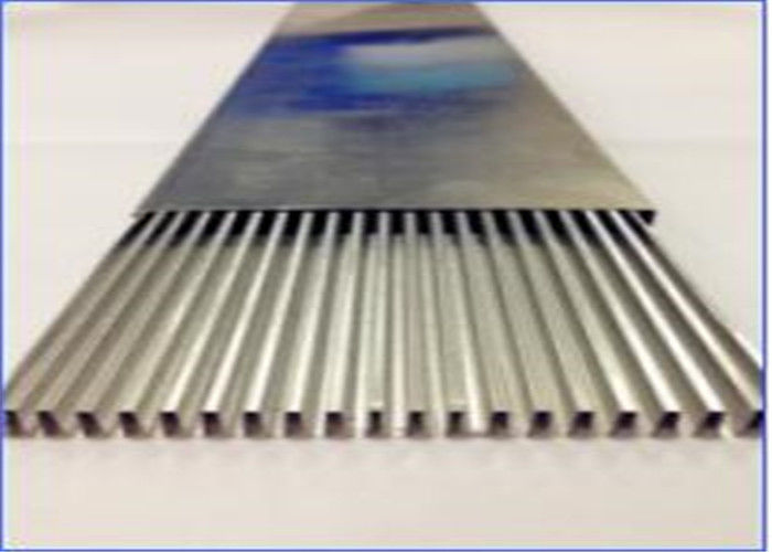 Heater Welding Aluminum Tubing , High Frequency Welded Aluminum Rectangular Tubing
