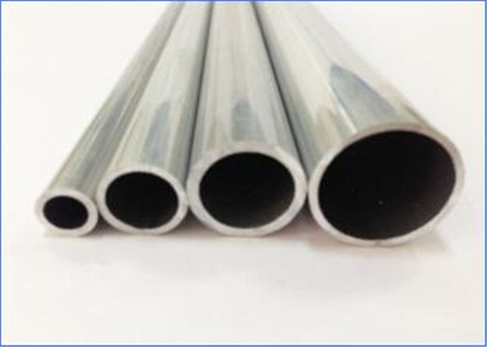 Straight Precision Aluminum Tubing , Air Conditioning Line Welding Aluminium Tube