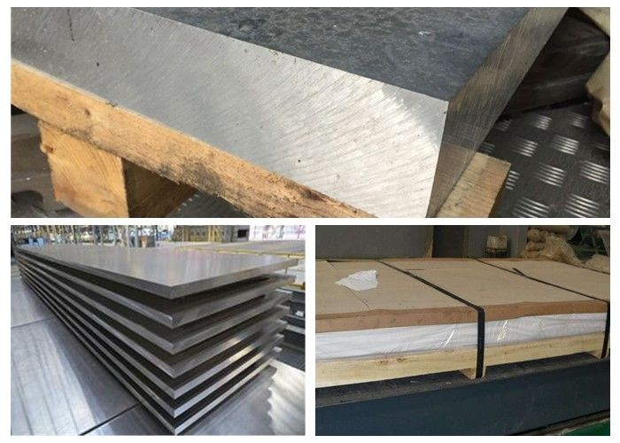 Professional Marine Grade Aluminum Plate 5a02 H112 Alloy 3.2mm Thickness