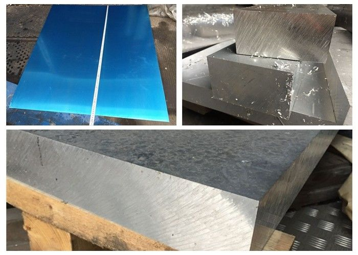 Hard Alloy 7075 Aluminum Sheet Metal For Aircraft Parts / Shaft 16 Gauge