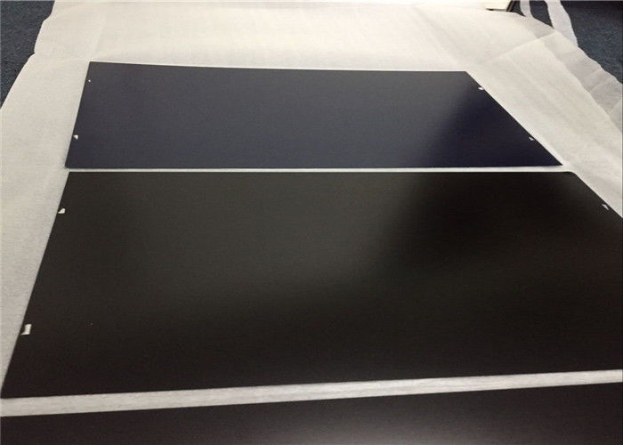 Oxide Anodized Aluminum Plate Customized Color 500 - 2650mm Width IRIS Approval